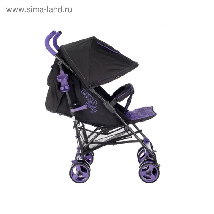 Коляска-трость Liko Baby B319 EASY TRAVEL, цвет фиолетовый