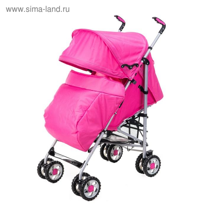 Коляска-трость Liko Baby BT109 City Style, цвет розовый