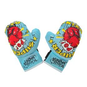 Набор для бокса 'Король ринга', 2 перчатки Ош