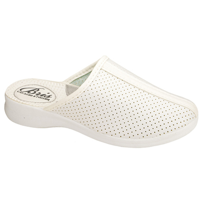 Shoes clogs for women BOW00504-02 P, size 36, color white