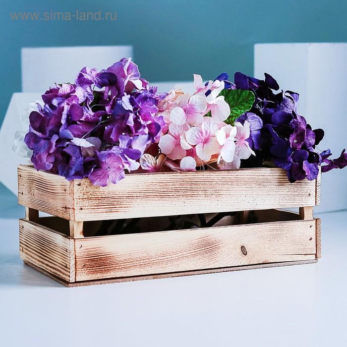 Ящик реечный экзотик, 24,5 х 13,5 х 9 см