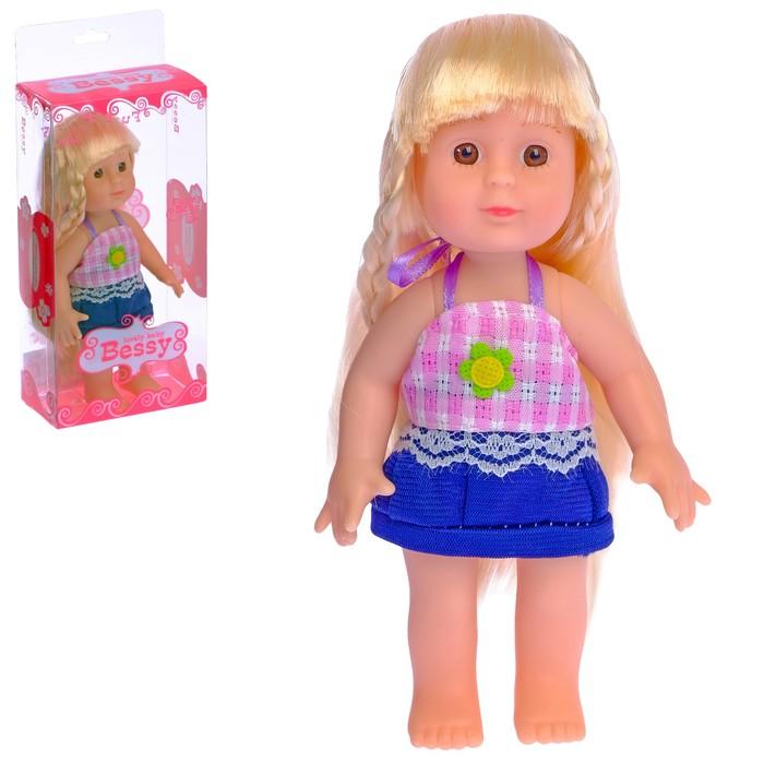 "Кукла ""Таня"" в платье, МИКС"