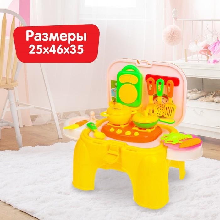 Игровой набор-стульчик «Учимся готовить»