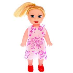 Кукла малышка 'Таня' в платье, МИКС Ош