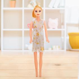 """Кукла модель """"Ира"""" в платье, МИКС"""
