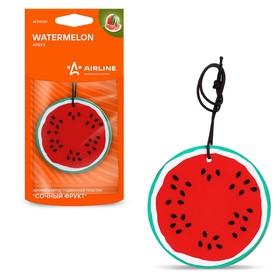 """Ароматизатор подвесной пластик """"Сочный фрукт"""" AFFR087, арбуз"""