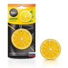 """Ароматизатор подвесной пластик """"Сочный фрукт"""" AFFR092, лимон"""