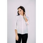 Блузка женская 7179-7 цвет белый, р-р 46, рост 170