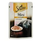 Влажный корм Sheba mini для кошек, лосось, 50 г