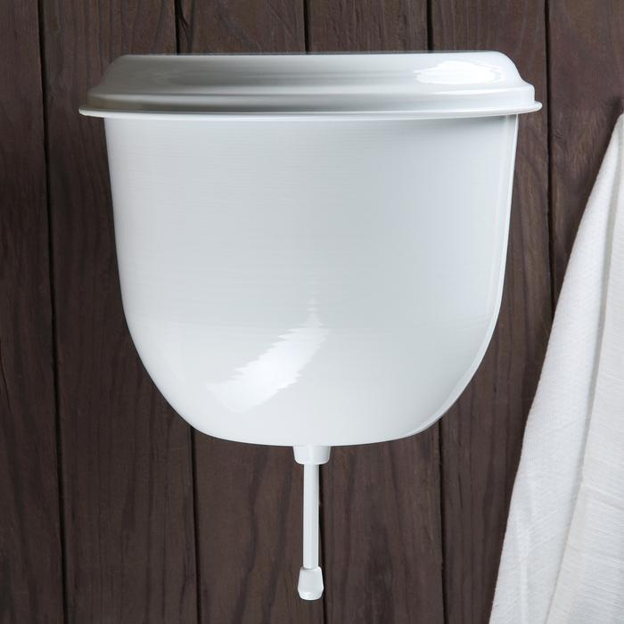 Умывальник с покрытием 4,5 л, цвет белый