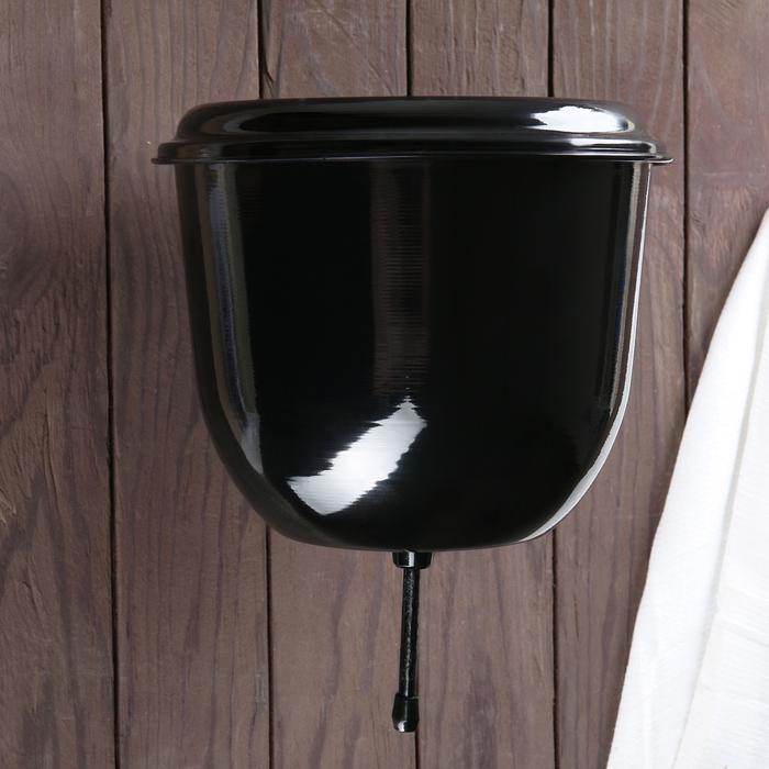 Рукомойники 4,5 л с покрытием цвет черный