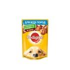 Влажный корм Pedigree для собак всех пород, кролик/индейка в соусе, пауч, 100 г