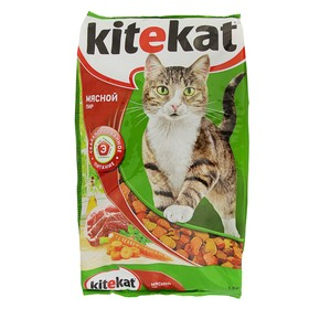 "Сухой корм KiteKat ""Мясной пир"" для кошек, 1,9 кг"