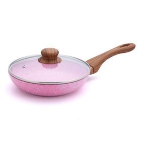 Сковорода Emery с крышкой, 28 см