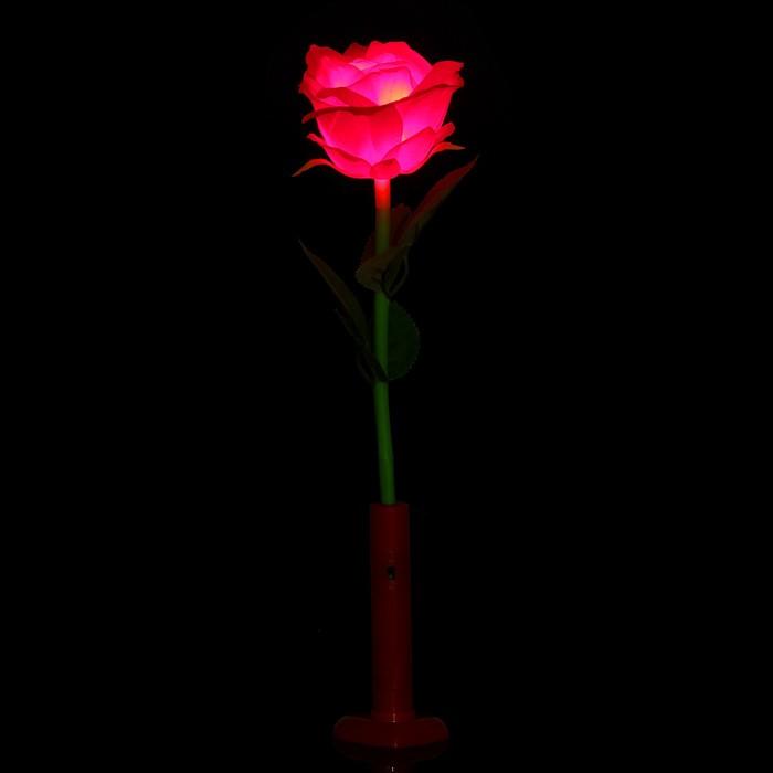 """Палочка световая """"Роза"""", цвет красный"""