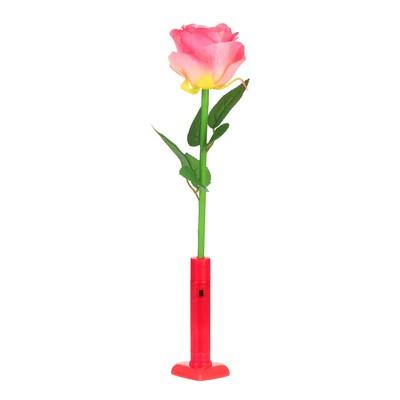 Палочка световая «Роза», цвет розовый