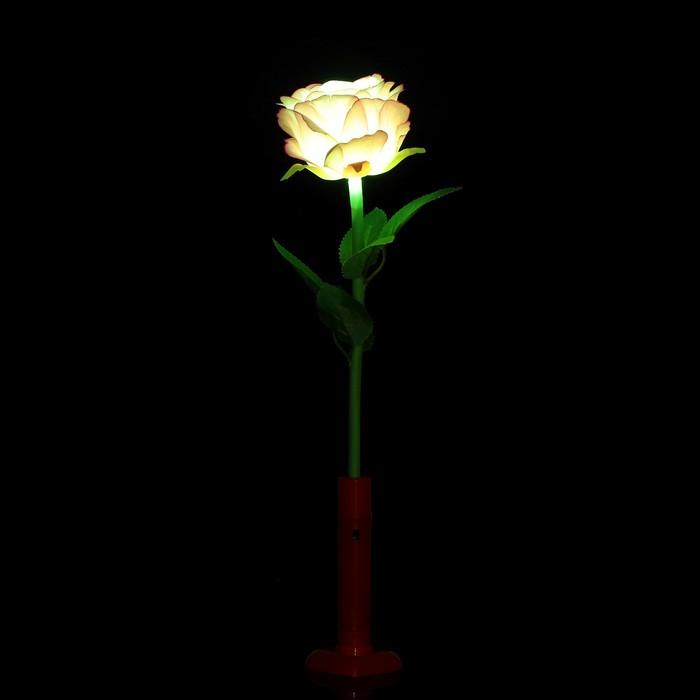 "Палочка световая ""Роза"", цвет фиолетовый"