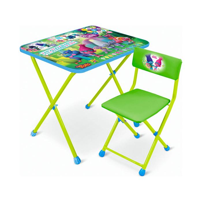 "Набор мебели ""Тролли"": стол, стул мягкий"