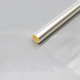 Плёнка для цветов прозрачная 0,7 х 37,5 м, 1000 г, 40 мкм