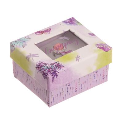 Подарочная коробочка под кольцо «Сюрприз», 5 х 6 х 3,5 см