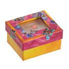 Подарочная коробочка под кольцо «Поздравляю», 5 х 6 х 3,5 см