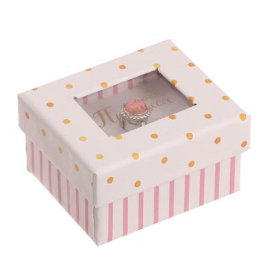 Подарочная коробочка под кольцо «Моей принцессе», 5 х 6 х 3,5 см