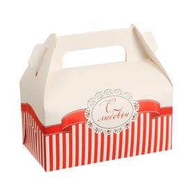 Сундучок для сладкого «С Любовью», 9 × 16 × 12 см