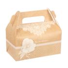Сундучок для сладкого «Вдохновляй», 9 × 16 × 12 см - фото 308035347