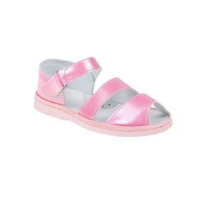 Туфли летние  арт. 3312 (розовый) (р. 27) (17 см)