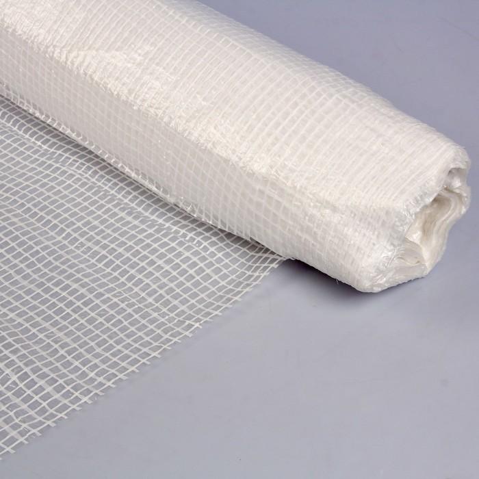 Плёнка полиэтиленовая, армированная, 50 × 4 м, толщина 120 мкм, белая