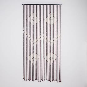 Занавеска 90×170 см, 27 нитей, дерево