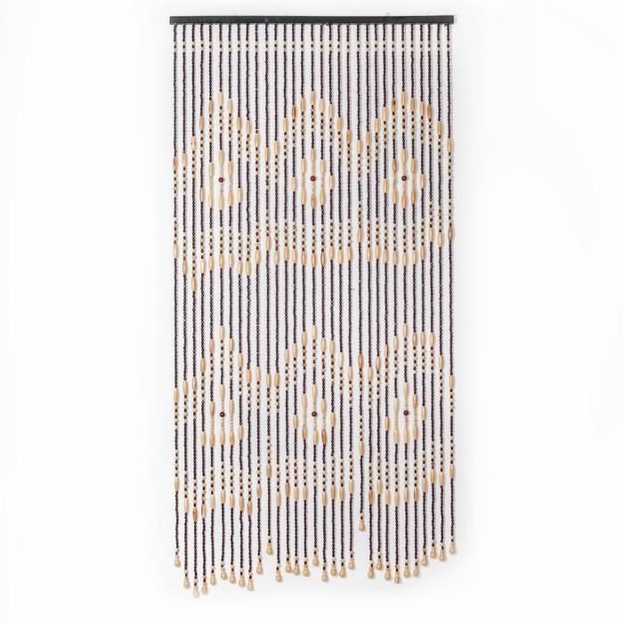 Занавеска декоративная, 90×170 см, 31 нить, дерево