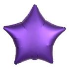 """Шар фольгированный 18"""" """"Звезда"""" сатин Purple Royale"""