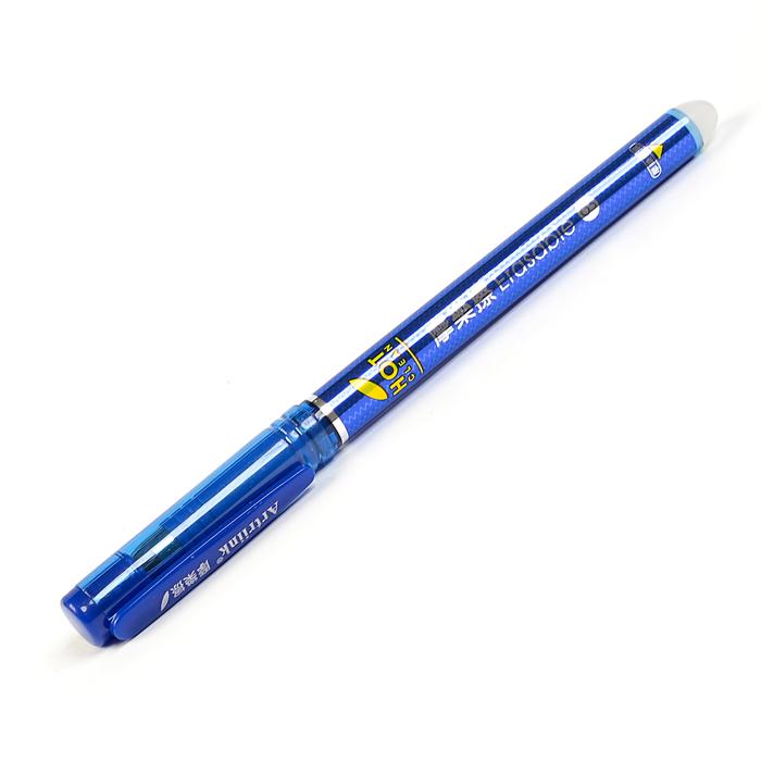 Ручка гелевая ПИШИ-СТИРАЙ 0,5мм стержень синий корпус тонированный