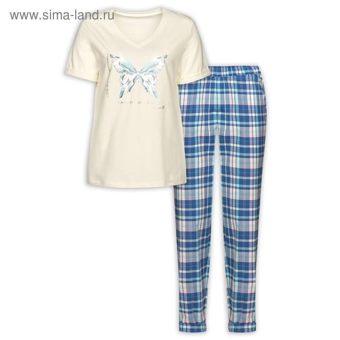 Комплект женский, размер S, цвет молочный  PMATP6729