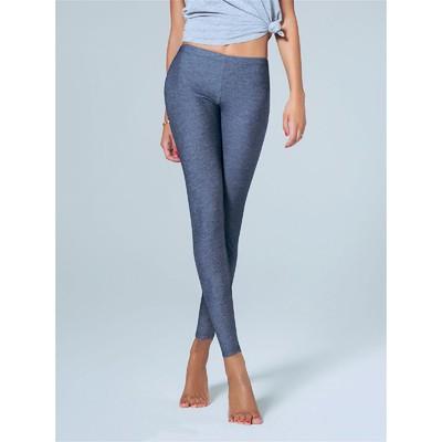 Леггинсы женские, размер L/XL, цвет джинс LR146