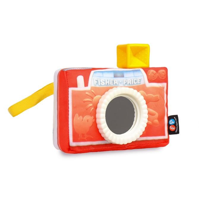 "Мягкая игрушка ""Фотоаппарат"" с зеркальцем DFR11"