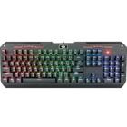 Клавиатура Redragon Varuna RU, игровая, проводная, механическая, подсветка, USB, черная