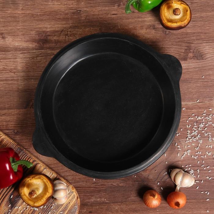 Сковорода чугунная, 29 см (крышка для казана объёмом 3,5 л)