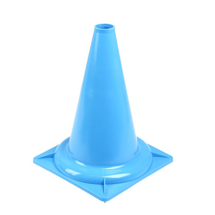 Конус сигнальный (голубой)