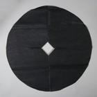Круг приствольный, d = 0,6 м, спанбонд с УФ-стабилизатором, набор 5 шт., чёрный, Greengo, Эконом 20%