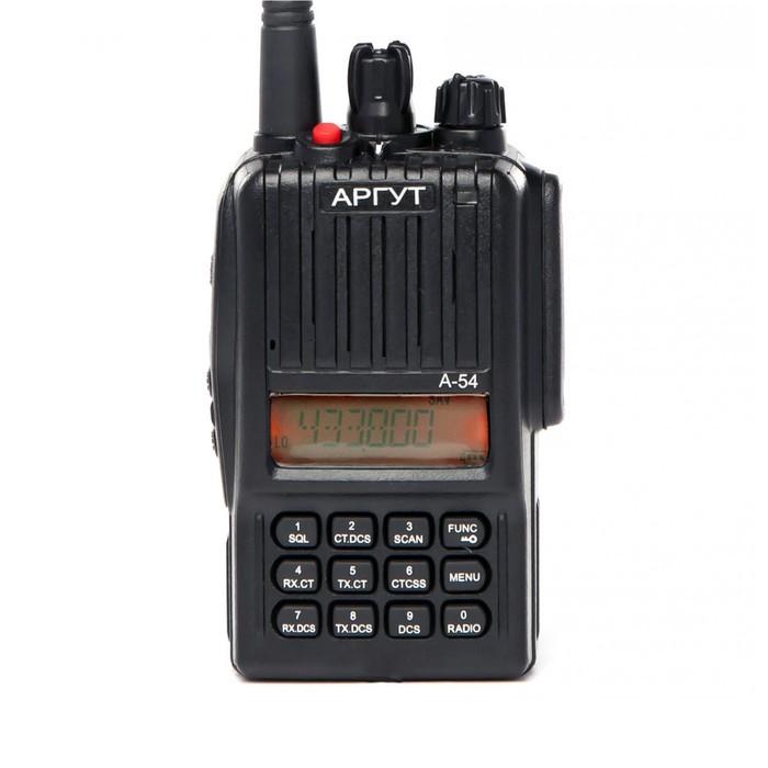 Рация Аргут А-54 (400-470 MHz-UHF) (LPD+PMR)  Li-ION 2300 mAh
