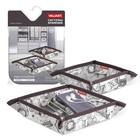Набор органайзеров для ключей и аксессуаров 2 шт, 16 х 16 х 5 см EXPEDITION