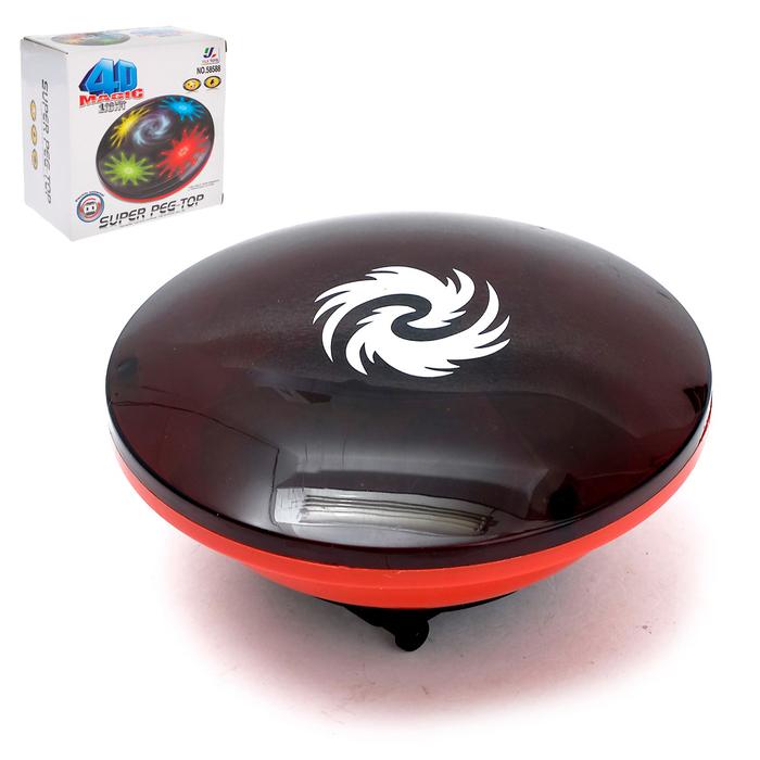 Юла «Магический волчок», работает от батареек, световые и звуковые эффекты - фото 105649160