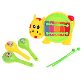 """A set of musical instruments """"music"""", 3 items"""