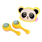 "A set of musical instruments ""Panda"", 3 items"