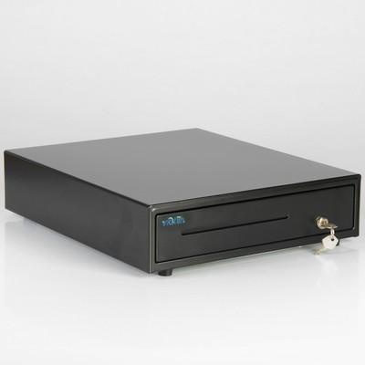 Денежный ящик Форт 4К, электромеханический, цвет чёрный