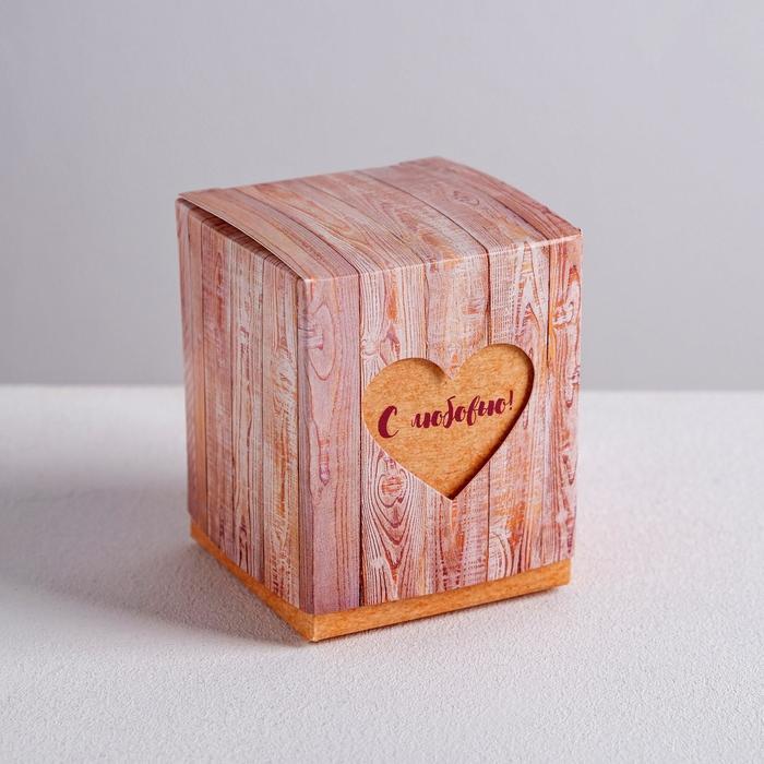 Бонбоньерка «Люблю», 6.2 × 7 × 6.2 см - фото 8442712