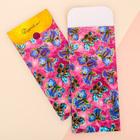 Пакетик подарочный «Цветущие ирисы», 13 х 28,9 см