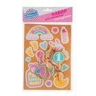 Набор для украшения праздника «Малышка 1 годик», наклейки, 12 шпажек - фото 105519884